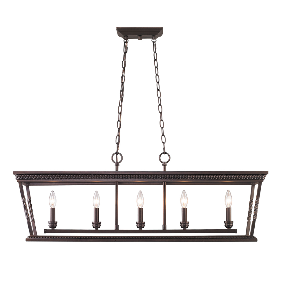 5 light linear pendant 4214 lp eb 43rd street lighting inc 5 light linear pendant aloadofball Gallery