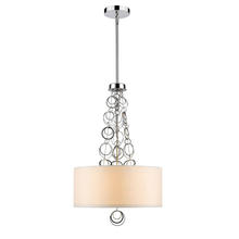 Golden 5050-3P CH - 3 Light Pendant