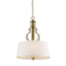 Golden 5140-3P LG - 3 Light Pendant
