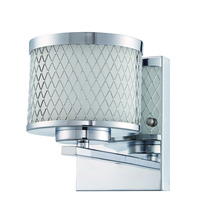 Jeremiah 16606CH1 - Euclid 1 Light Wall Sconce in Chrome