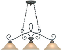 Jeremiah 25233-MB - Highland Place 3 Light Island in Mocha Bronze