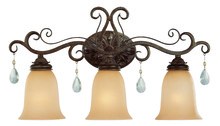 Jeremiah 25603-FR - Englewood 3 Light Vanity in French Roast
