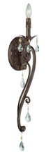 Jeremiah 25621-FR - Englewood 1 Light Wall Sconce in French Roast