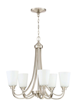 Jeremiah 41925-BNK - Grace 5 Light Chandelier in Brushed Polished Nickel