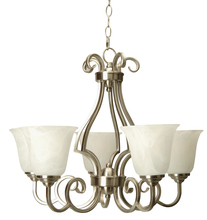 Jeremiah 7124BN5 - Cecilia 5 Light Chandelier in Brushed Satin Nickel