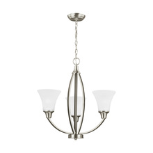 Sea Gull 3113203-962 - Three Light Chandelier