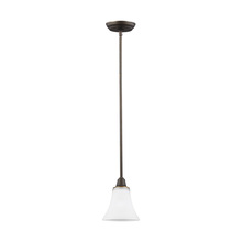 Sea Gull 6113201-715 - One Light Mini-Pendant