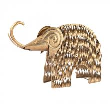 Sterling Industries 3138-199 - Gold Wooly Mammoth