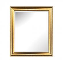 Sterling Industries 6100-021 - Lucrezia Composite Frame Wall Mirror In Gibson Gold
