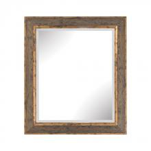 Sterling Industries 6100-022 - Cognac Composite Frame Wall Mirror In Rust And Gold