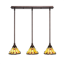 Toltec Company 25-BRZ-9265 - Multi Light Mini Pendant
