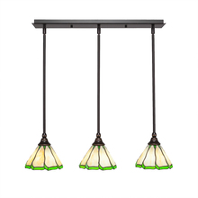 Toltec Company 25-DG-9135 - Multi Light Mini Pendant