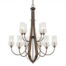 Capital 411601RT-322 - 10 Light Chandelier