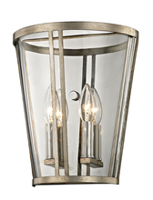 Troy B5842 - TRAPEZE 2LT WALL SCONCE