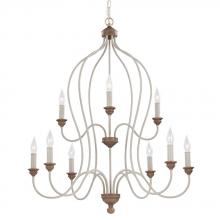 Feiss F2999/9CHKW/BW - 9 - Light Chandelier