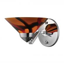 ELK Lighting 1470/1JAS - Refraction 1 Light Wall Sconce In Polished Chrom